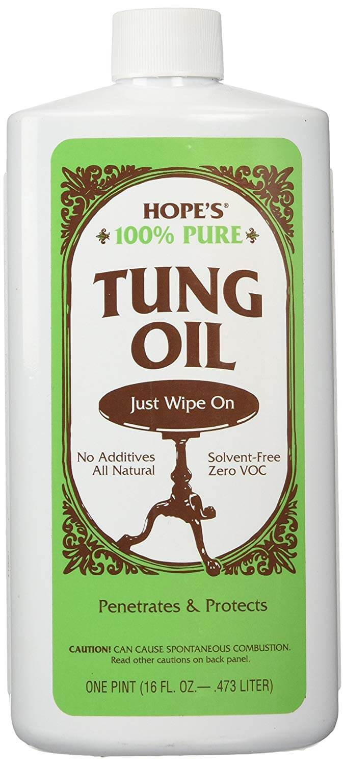 Hopes 100% Tung Oil