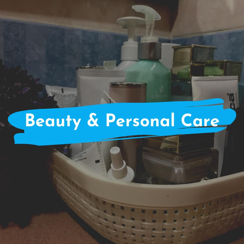 waterproof beauty and personal care products
