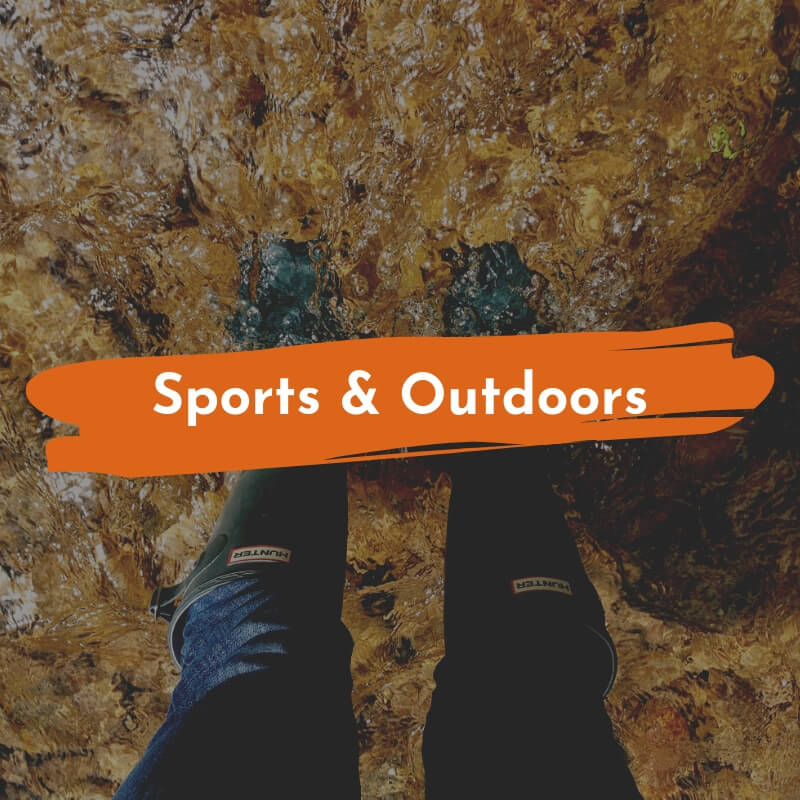 waterproof sports and outdoors products