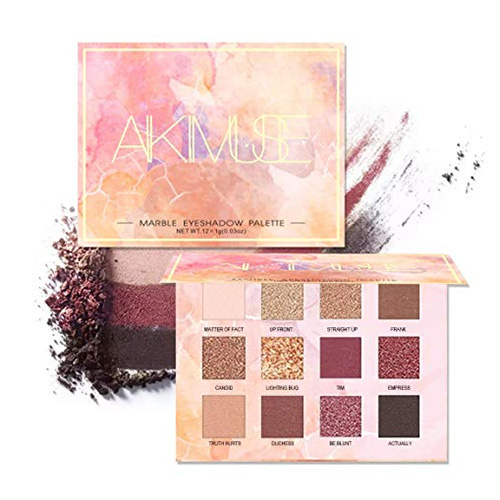 AIKIMUSE Eye Shadow Palette- 12 Colors