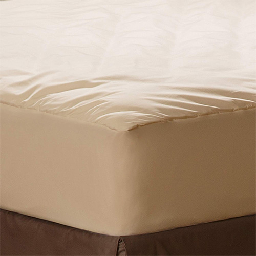 AllerEase Organic Cotton Cover Allergy Protection Waterproof Mattress Pad