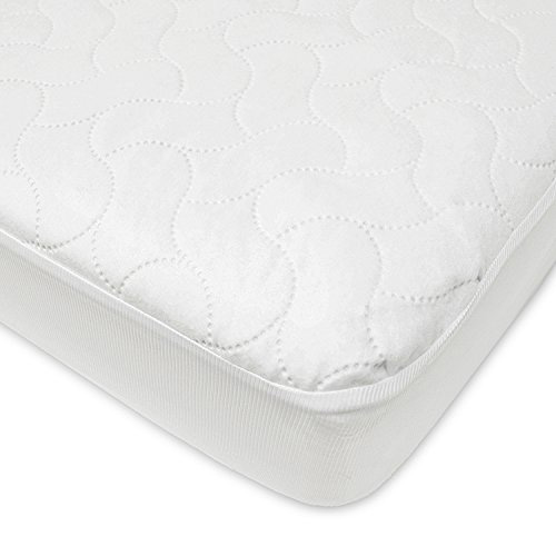 American Baby Waterproof Fitted Crib Mattress Pad Cover