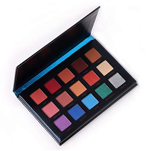 Beauty Glazed 15-Color Eye Shadow Palette