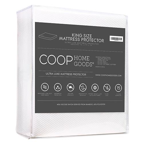 COOP HOME GOODS - Lulltra Waterproof Mattress Pad Protector Cover