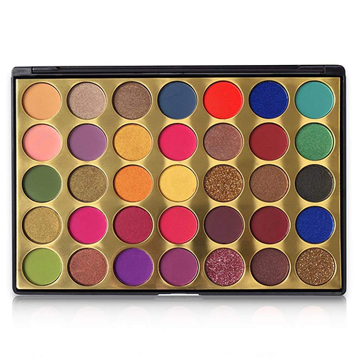 FindinBeauty 35 Colors Pro Eyeshadow Golden Palette