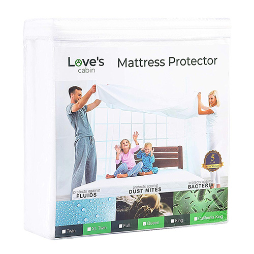 Love's Cabin Premium Zippered Mattress Encasement