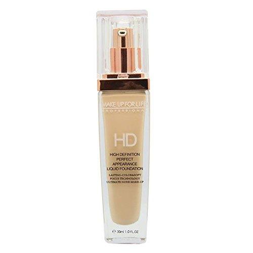 Make Up For Life Liquid Cream Foundation-Ivory (01)