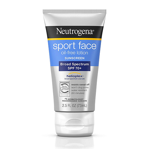 Neutrogena Sport Face Oil-Free Lotion Sunscreen