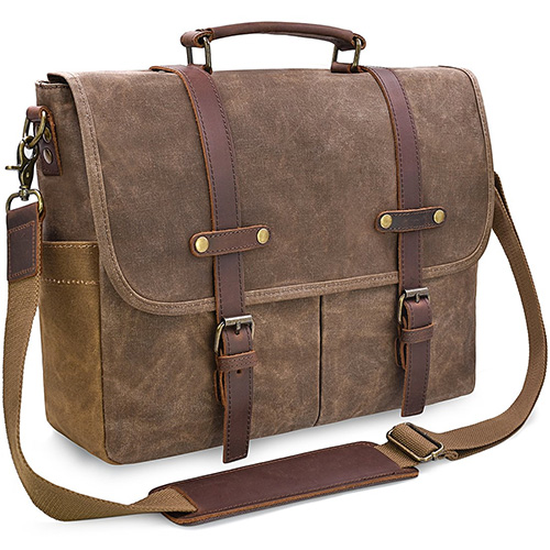 NewHey Waterproof Mens Messenger Bag