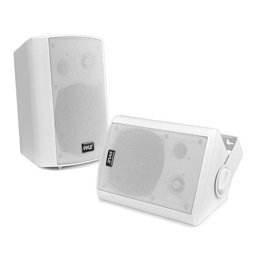 Outdoor Wall-Mount Patio Stereo Speaker
