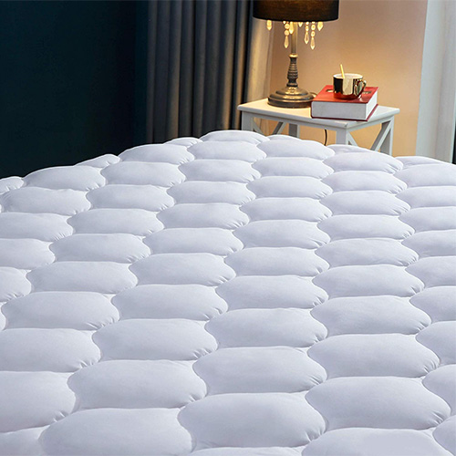 Quilted Fitted Cooling Mattress Pad