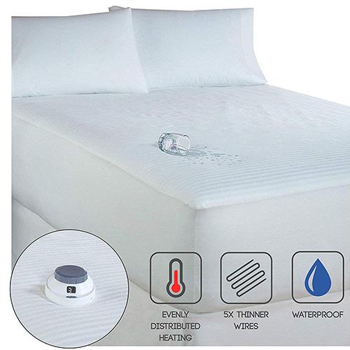 Serta Smart Heated Waterproof Mattress Pad