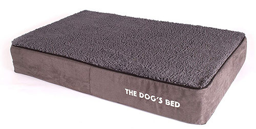 The Dog's Bed Premium Memory Foam Dog Bed