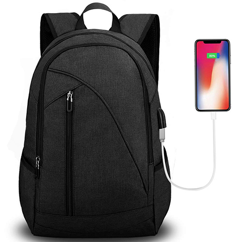 Tocode Unisex Laptop Backpack for School & Travel