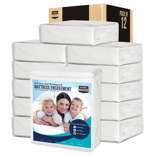 Utopia Bedding Zippered Mattress Protector