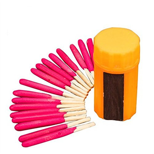 Jackie Portable Extra-large Head Windproof Waterproof Matches