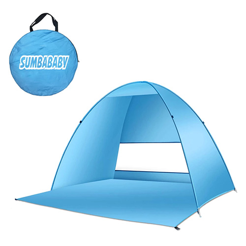 Large Beach Tent UV Pop up Sun Shelter Tents