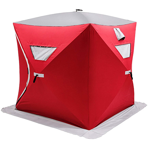 Popsport 2/3/4/8 Person Ice Fishing Shelter Tent