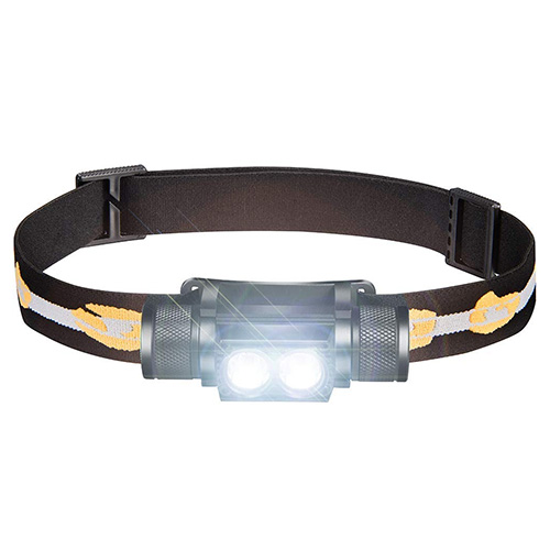 SLONIK 1000 Lumen Rechargeable 2x CREE LED Headlamp