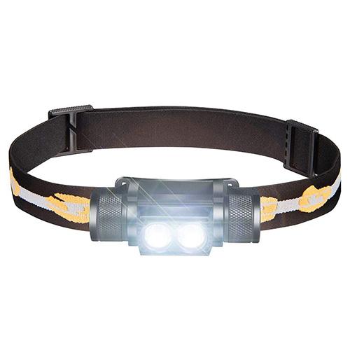 SLONIK 1000 Lumen Rechargeable 2x CREE LED Headlamp