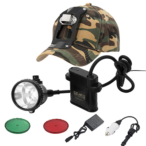 Safety Miner Headlamp Cap