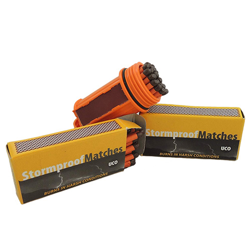 UCO Match Container Kit with 75 UCO Stormproof Matches