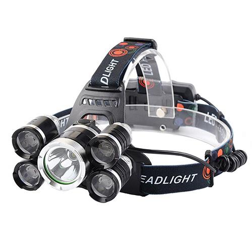 Wewdigi 5 LED Bulbs 4 Mode-Hands Free Flashlight