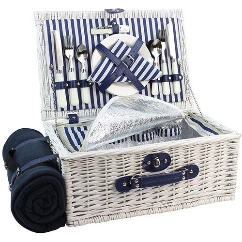 Willow Picnic Basket/Blanket