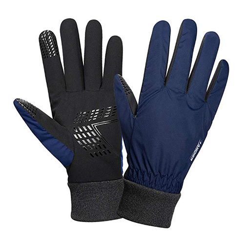 Anqier Cold Weather Waterproof Gloves for Men and Women