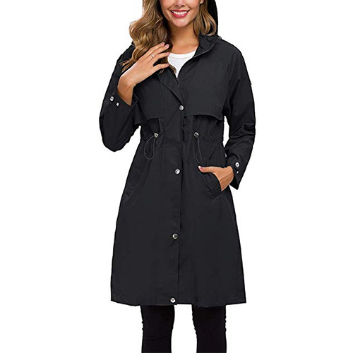 Avoogue Lightweight Raincoat for Women