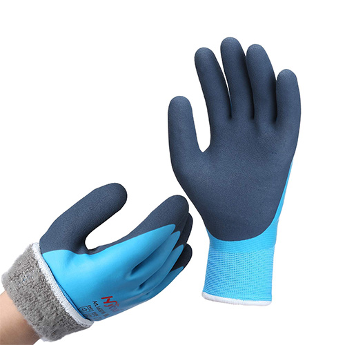 DS Safety Nylon Waterproof Work Gloves