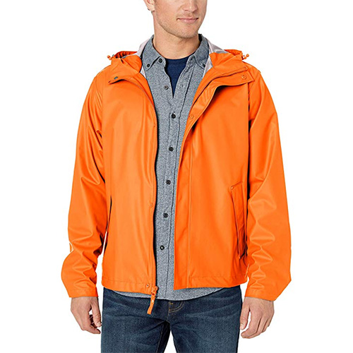 Helly Hansen Moss Hooded Raincoat Jacket