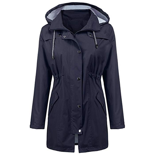 LOMON Raincoat Women