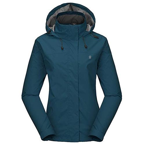 Little Donkey Andy Women's Rain Jacket
