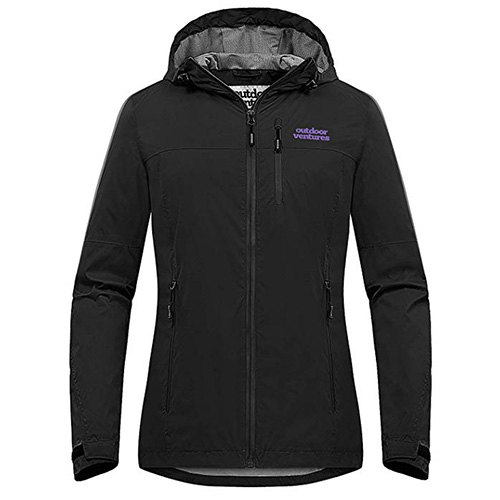 Outdoor Ventures Packable Rain Jacket Women