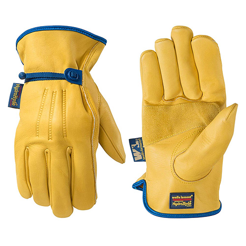 Wells Lamont HydraHyde Water Resistant Work Gloves
