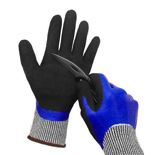 Yarn Springs Waterproof Work Gloves