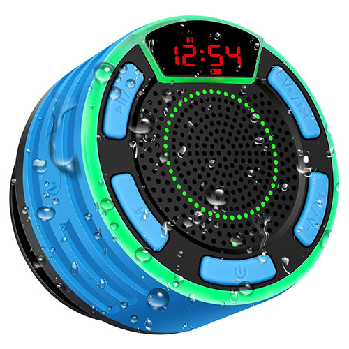 BassPal Waterproof Radio and Bluetooth Speaker