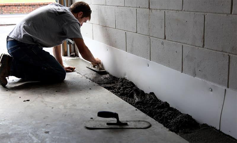 Waterproofing a Basement From The Inside