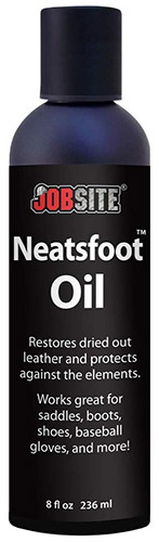 JobSite Prime Neatsfoot Oil Leather Waterproof Compound