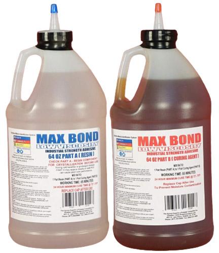 MAX Bond Low Viscosity Marine Grade Epoxy Resin- 1 Gallon Kit