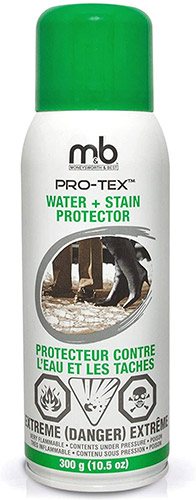 M&B Pro-Tex Water and Stain Shoe Protector
