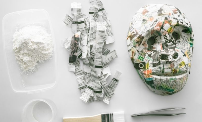 How to Waterproof Paper Mache