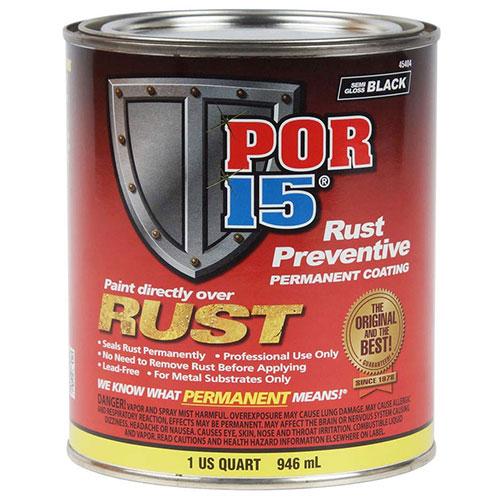POR-15 Semi Gloss Black Rust Preventive Paint