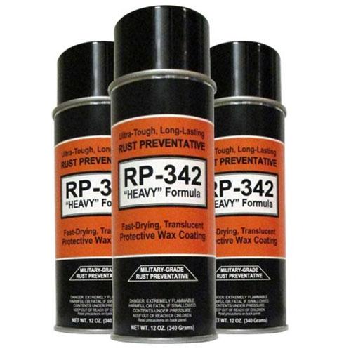 """RP-342 """"Heavy"""" Rust Preventative Spray"""